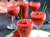 Cocktail poivrons, framboises sauce TABASCO® rouge Sans alcool