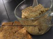 Houmous l'avocat & pois chiches avec crackers gaines Healthy Végétarien