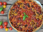 Tarte tomates cerises Savéol