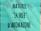 J'ai testé vernis ongle végétal free d'Aroma-zone