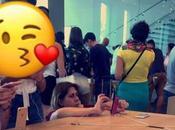 fout bordel dans apple store Barcelone (PHOTOS)
