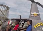 Harlem Globetrotter marque panier depuis…un hélicoptère