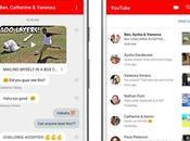 YouTube lance messagerie dans application mobile