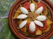 Tagine légumes vegetable tagine verduras /طاجين بالخضر