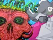 """graffiti """"l'OCTOPODE FESTIVAL"""""""