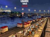 Inédit Coca-Cole invite personnes pour dîner quais Seine Paris