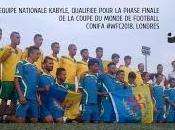 Kabylie qualifiée pour Coupe monde ConIFA 2018