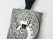 Pendentif arbre argent