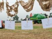 Agriculteurs paille