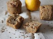Muffins citron, anis huile d'olive