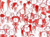 Tourner autour d'un personnage dessiner gens tout