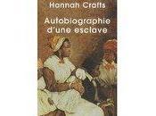 Autobiographie d'une Esclave Hannah Crafts