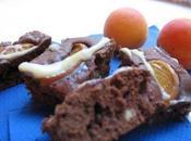 Brownies très chocolat abricots