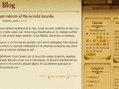 Thème WordPress Aspire gothique parchemin