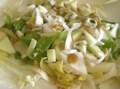 Salade d'Endive, Roquefort, Poire Noix