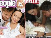 Photos jumeaux Brad Pitt Angelina Jolie dans People