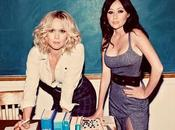 Shannen Doherty Jennie Garth séance photos studieuse