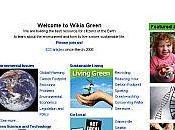 Wikia Green wikipedia l'environnement