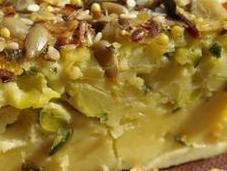 Clafoutis courgettes gourmand