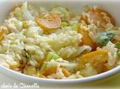 Risotto tout simple carottes