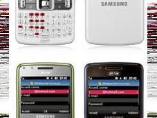 Samsung C6620 smartphone clavier sous Windows Mobile
