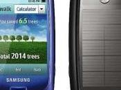 Samsung lance premier téléphone portable digital énergie solaire