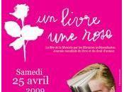Fête librairie indépendante livre, rose