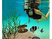 réalité augmentée sous l'eau