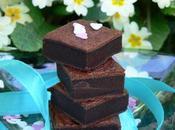 carrés fondants poudre cacao sucrée