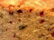 Cake tomates mozarella basilic