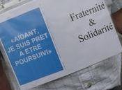 """IMMIGRATION """"Délit solidarité"""" manifestations MULHOUSE dans villes l'Hexagone"""