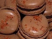 Macarons chocolat piment