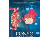 Ponyo falaise Miyazaki