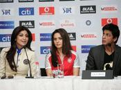 [PHOTOS] SRK, Shilpa Preity @IPL press conference
