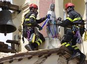 Abruzzes statue Vierge intacte
