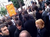 Manifestation anti HADOPI bilan quelques images