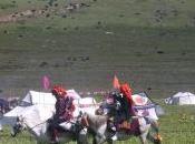 Festival cheval dans Kham tibétain