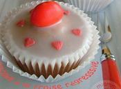 Cupcakes glacés fraise régresssive