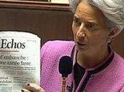 Crise économique, France sauvée Christine Lagarde offre bérets américains