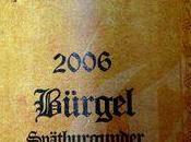 Keller Bürgel Spätburgunder Felix 2006 (Pinot Noir Allemagne)