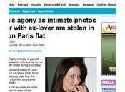 Carla Bruni cambriolée photos sexe tape volées?
