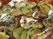 Tian provençal fromage frais