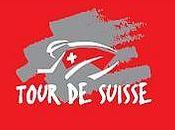 Tour Suisse: cyclistes Crans-Montana samedi juin 2009