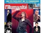 chansons pour soutenir l'Humanité
