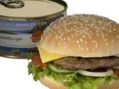 hamburger boîte