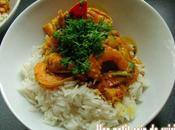 Curry crevettes coco (sans lait vache)