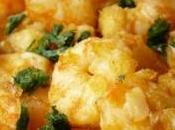 Idées tapas Crevettes aillées citron persil