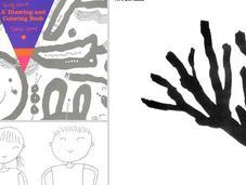 Taro Gomi Unordinary drawing colouring books kids
