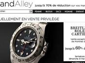 Vente exclusive montres luxe Brandalley.com