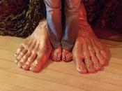 tèmo jour Pieds comme thème juin Feet theme june